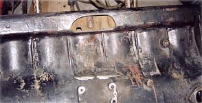 Korpus silnika po obrobieniu powstałego otworu
